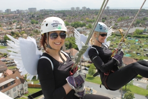 6. Events - rolling banner - abseil